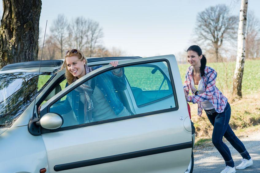 Auto anschieben- Schritt für Schritt Anleitung