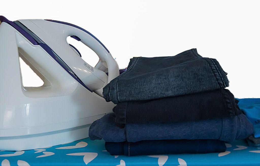 Jeans bügeln