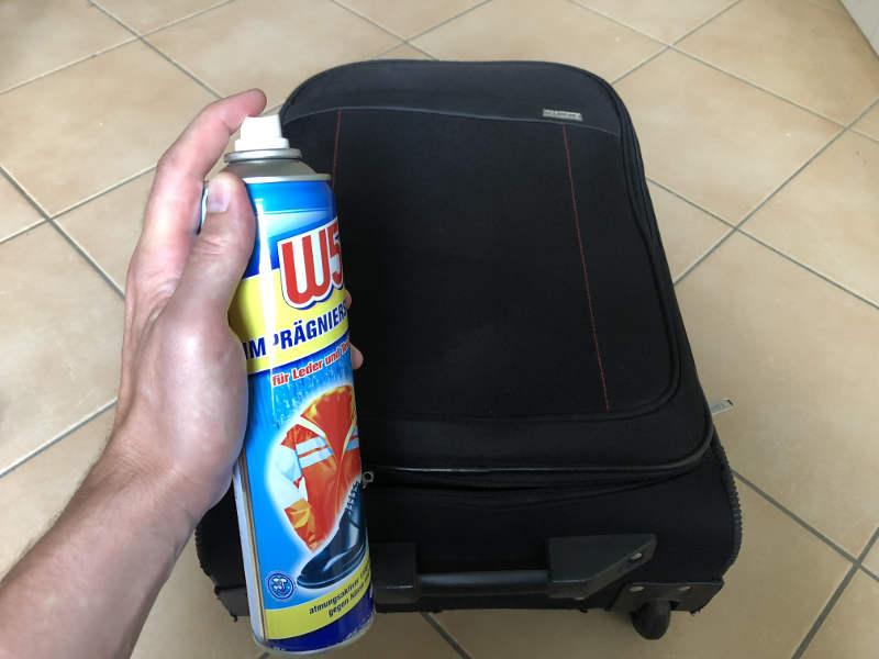 Koffer imprägnieren