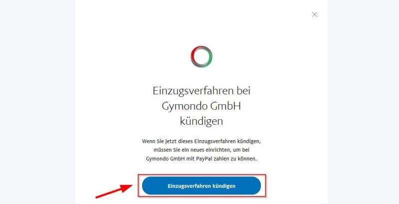 Paypal Einzugsverfahren kündigen bestätigen