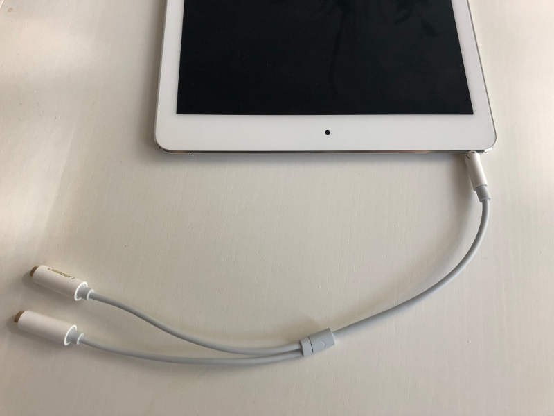 Zwei Kopfhörer gleichzeitig anschließen mit Audiosplitter (2)