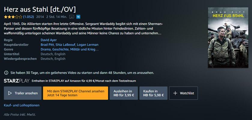 Amazon Channels kostenlos testen