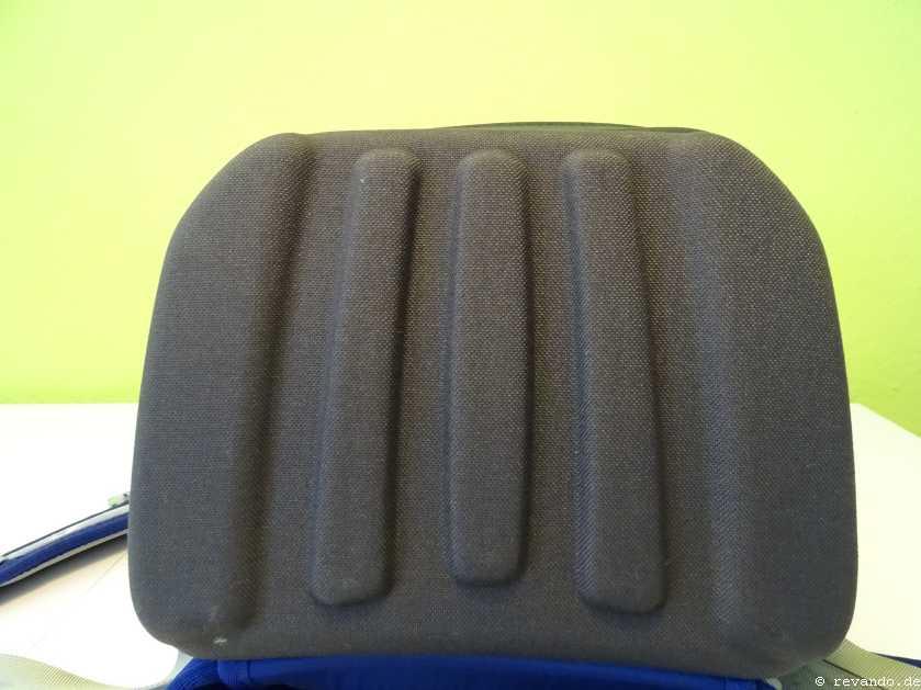 Ergobag Cubo Test Bodenplatte ohne Standfüße