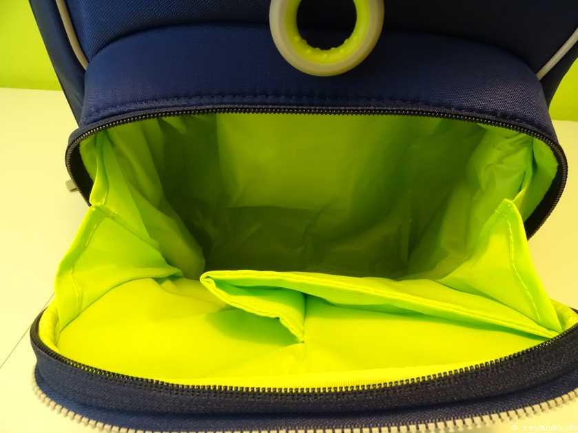 Ergobag Cubo Test geräumige Fronttasche