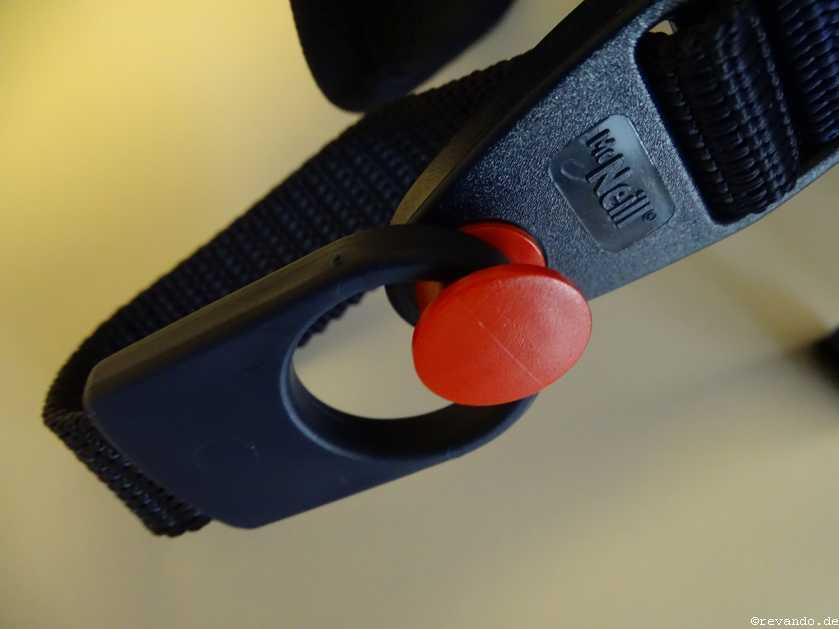 McNeill Ergo Primero Einhängevorrichtung für Gurtbänder