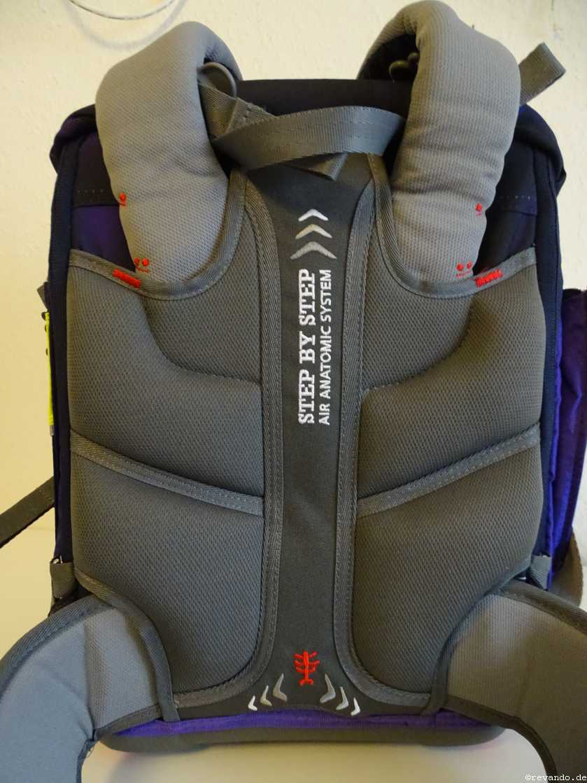 Step by Step 2-in-1 ergonomisches und belüftetes Rückenpolster