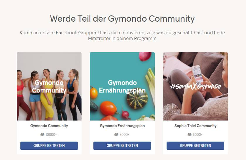 Gymondo Community