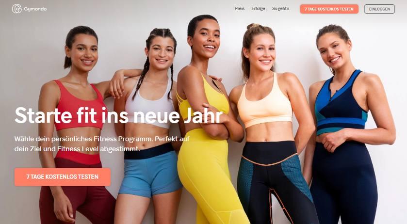 Online Fitnessstudio Gymondo