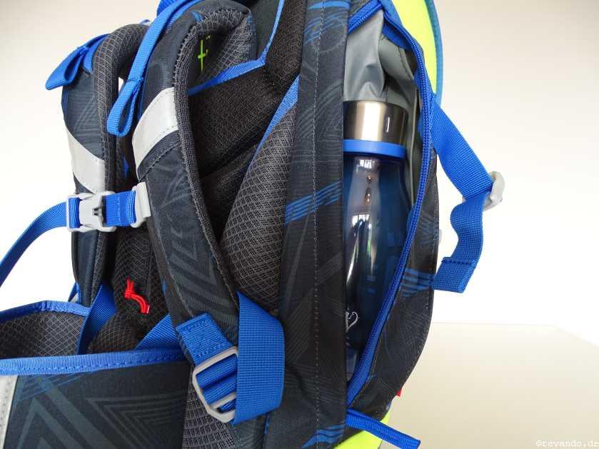Scout Ultra Seitentasche mit Trinkflasche
