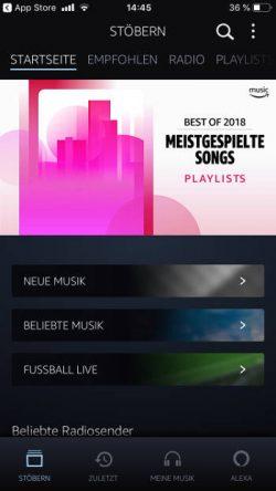 Startseite Amazon Music Unlimited